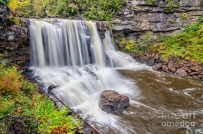 Blackwater Falls Poster by Anthony Heflin