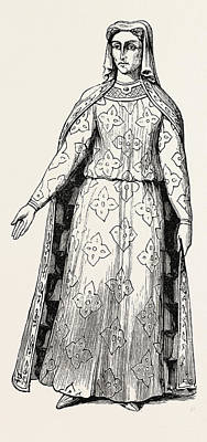 Blanche Of Castille Niece Of King John Poster