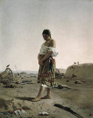 Blanes, Juan Manuel 1830-1901. The Poster by Everett