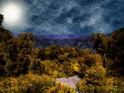 Blanket Of Stars Poster by RC deWinter