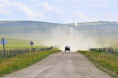 Blasingame Road   Poster by Clarice  Lakota