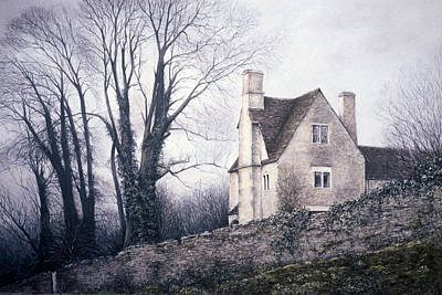 Poster featuring the painting Bleak House by Rosemary Colyer