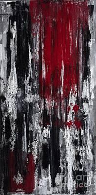 Bleeding Heart Poster by Kerri Ertman