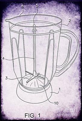Blender Patent Poster by Edward Fielding