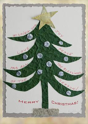 Blessing Tree Poster by Terri Harper