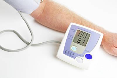 Blood Pressure Monitoring Poster by Lee Serenethos