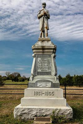 Bloody Cedars Civil War Memorial Poster