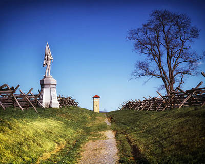 Bloody Lane - Antietam Battlefield Poster