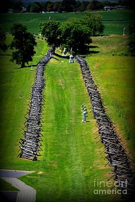 Bloody Lane Antietam Poster by Patti Whitten