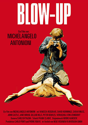 Blow Up - 1966 Poster by Georgia Fowler
