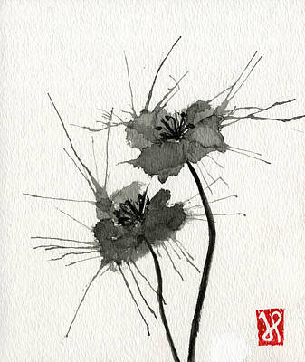 Blown Poppies Poster