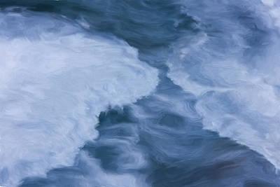 Blue 3                              Poster by Jack Zulli