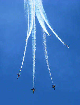 Blue Angels 5 Poster by Aimee L Maher Photography and Art Visit ALMGallerydotcom