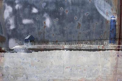 Blue Beacons Poster by John Stephens