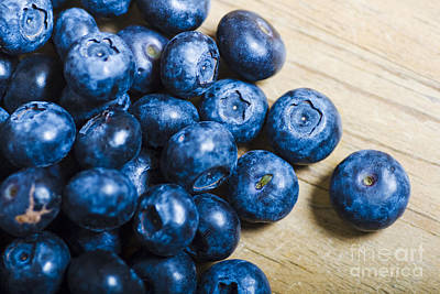 Blue Berries  Poster by Jorgo Photography - Wall Art Gallery