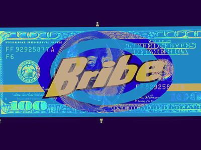 Blue Bribe Funk  Poster