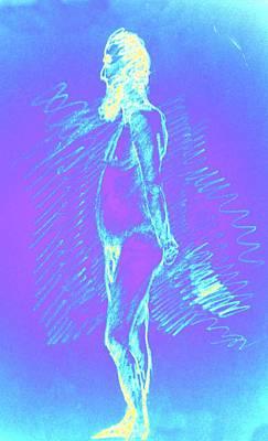 Blue Brooder Poster