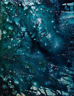 Blue Cosmos I Poster