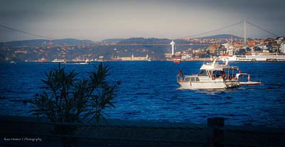 Blue Dawn On The Bosphorus Poster