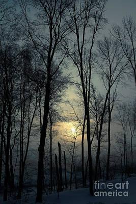 Blue Daybreak Poster