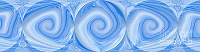 Blue Design Poster