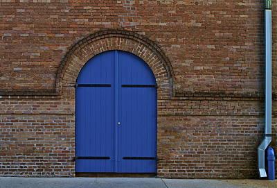 Blue Door Poster by John Babis