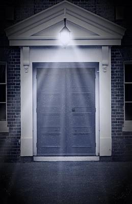 Blue Door Poster by Svetlana Sewell