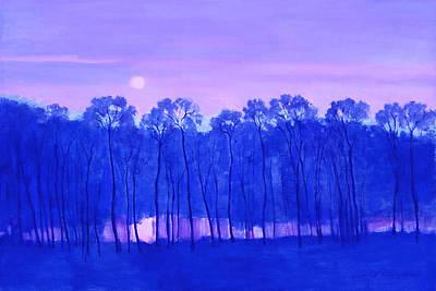 Blue Enchantment Poster