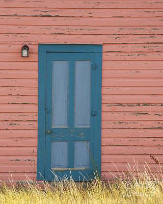 Blue Entrance Door Poster by Juli Scalzi