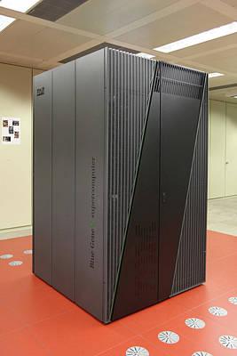Blue Gene Supercomputer Poster