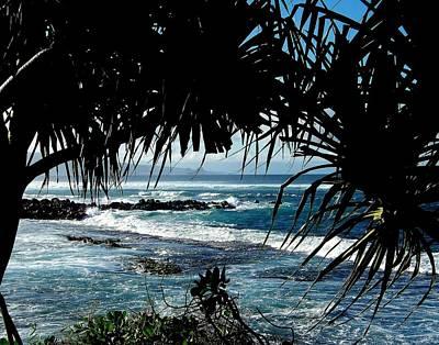 Blue Hawaii Poster by Karen Wiles