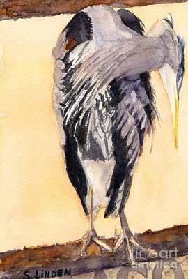 Blue Heron - Left Poster