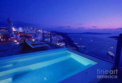 Blue Hour Poster by Aiolos Greek Collections