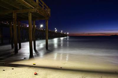 Blue Hour At Port Hueneme Pier Poster