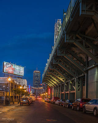 Blue Hour Fenway Poster