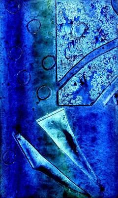 Blue I Poster