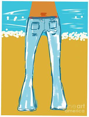 Blue Jean Summer Poster