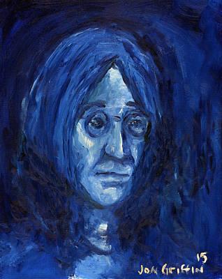 Blue John Poster by Jon Griffin