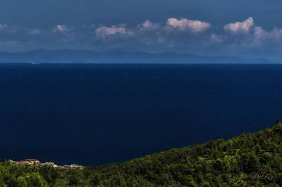 Blue Liguria Poster
