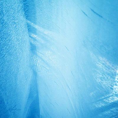 Blue Linen Sunshine Poster by Karl Reid