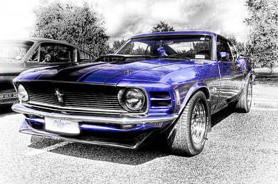 Blue Mach 1 Poster by motography aka Phil Clark