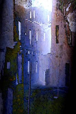 Blue Mesa Poster by David Hansen