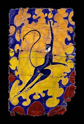 Blue Monkey No. 13 Poster