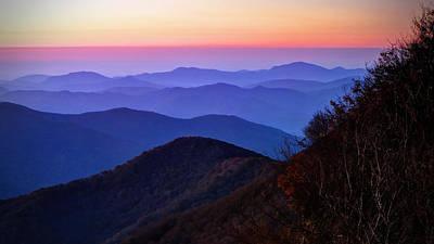 Blue Ridge Dawn Poster
