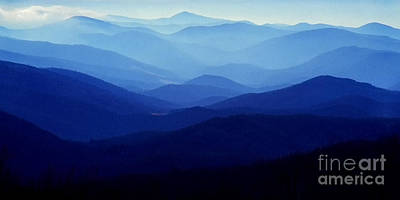 Blue Ridge Mountains Poster by Thomas R Fletcher
