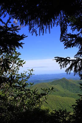 Blue Ridge Parkway Norh Carolina Poster by Mountains to the Sea Photo