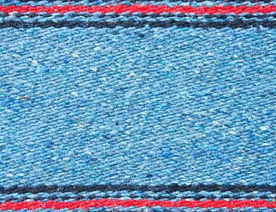 Blue Rug Poster