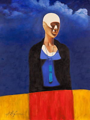 Blue Sky Poster by Karl Melton