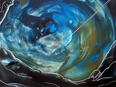 Blue Topaz Poster by Jason Girard