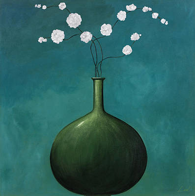 Blue Vase 1 Poster by Pablo Esteban